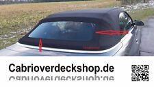 Cabrio Verdeck Glas Kleber für Cabrios mit einer fest eingeklebten Glasscheibe