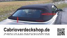 Cabrio Verdeck Glas Kleber für Cabrios mit einer fest eingeklebten Glasscheibe