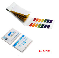 80 PH Tester Paper Strips Water Tester For Aquarium Fish Tank Testing Kit Useful