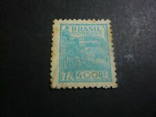 brasil post  stamp old   timbre  brésil