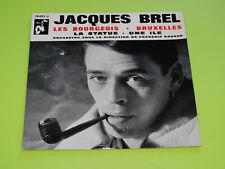 45 tours EP - JACQUES BREL - LES BOURGEOIS - 1962