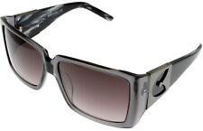 Gianfranco Ferre Sunglasses Women Grey Swarovski Rectangle GF957 04