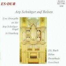 UWE DROSZELLA - ARP SCHNITGER AUF REISEN  CD NEUF BUXTEHUDE/BÖHM/LÜBECK