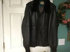 Men's Cabela's Outdoor Gear Brown Leather Jacket/Coat Size XL