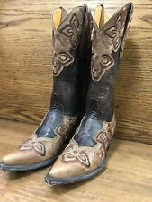 OLD GRINGO Marione Boots Size 7 Chocolate