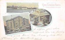 King Edward Hotel Toronto Canada 1912 Postcard