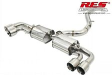 RES Valvtronic Catback +2 Tips Each Side FOR Audi TTS 8J3/8J9 2009-2013 2.0T/3.2