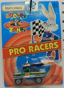 DAFFY 4X4 MONSTER TRUCK FORD CHEVY WB MATCHBOX MB MBX LOONEY TUNES PRO RACERS