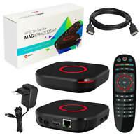 MAG 324W2 450Mbps WiFi Wlan onboard IPTV Streamer Receiver Box HEVC H.265 324 W2