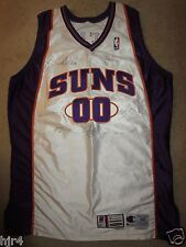 Tony Delk #00 Phoenix Suns 2000 NBA Game Used Worn Champion Jersey