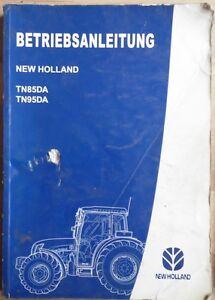 New Holland Traktor TN 85 DA , TN 95 DA Betriebsanleitung
