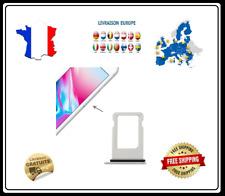 Kit tiroir carte sim plateau port carte IPHONE 8 GRIS ARGENT