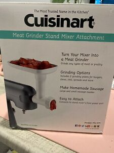 Cuisinart Meat Grinder Attachment Only Model MG-50A