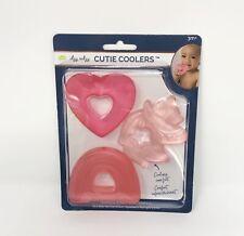 Itzy Ritzy Baby Teething Rings Cutie Water Coolers 3m+ Heart Rainbow Unicorn