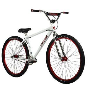 Throne The Goon 29er Fixed Gear Urban Street Bicycle Bike White Crimson NEW 2021