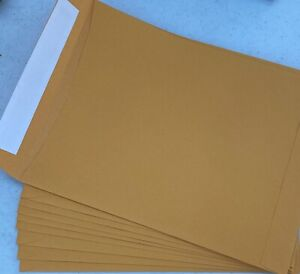 "15 Count 9 x 12 Catalog Envelopes Peal and Seal Mailers  9""x12"" Manila"