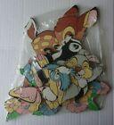 Disney Cardboard Wall Plaques-Baby Nursery-Bambi/Thumper/Flower/Bird/Butterfly