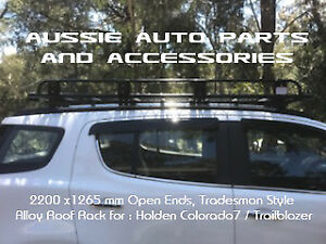 Alloy Roof Top Tent Touring Rack 2200x1250mm for HOLDEN Trailblazer 2016 onward