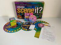 MUSIC SCENE IT? THE DVD BOARD GAME - VGC - COMPLETE