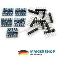 5 Stück - 4 Kanal Pegelwandler Level Shifter Konverter I2C 5V-3.3V Arduino Ra...