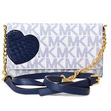 Michael Kors Giftables Azul Marino + Blanco, Corazón, PVC, Teléfono Cadena