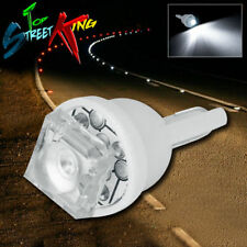 1 SUPER FLUX LED T10 W5W 194 168 WHITE INTERIOR DOME WEDGE LIGHT BULB UPGRADE