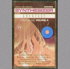 "SYNTHESIZER GREATEST SPACE MUSIC VOL.4 "" MUSICASSETTA  SIGILLATA"
