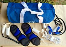 Nintendo Wii Biggest Loser Fitness Kit Jump Rope Weights Fitness Cord Gym Bag