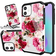 For Iphone 11 Pro 6 6s 7 8 Plus XR X Xs Max SE Red Rose Floral Cute Girls Case
