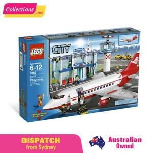 GENUINE LEGO City - Airport - 3182 - Fast FREE Shipping !!! - Damaged Sealed Box