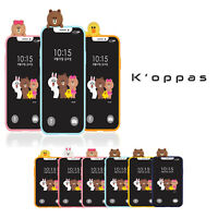 Official Line Friends Bbakkom Soft Phone Case Cover For Samsung Galaxy iPhone