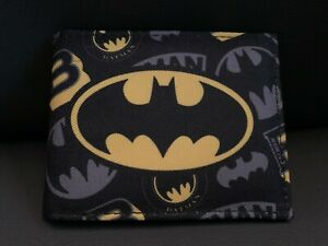 OFFICIAL DC BATMAN WALLET WITH OUTSIDE VINTAGE PRINT NEW COMICS CLASSIC BATMAN
