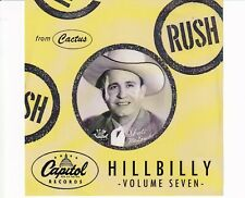 CD CAPITOL HILLBILLY volume sevenEX +CACTUS  (B4915)