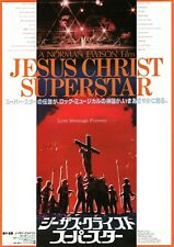 Jesus Christ Superstar 1973 Vintage Japanese Chirashi Flyer Movie Poster B5