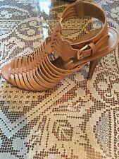 Stuart Weitzman Sandal Ankle Strap Heels Size 10 M FW 55737