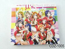 Love Live (μ's) Best Album Live Collection 1 2CD + Bluray Music CD Set US Seller