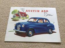 The Austin A30 Seven Car Brochure Brochure Number 901/A