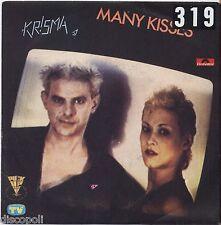 "KRISMA - Many kisses - VINYL 7"" 45 LP 1980 VG+/VG- CONDITION"