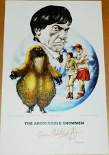 Chris Achilleos Doctor Who Abominable Snowmen Signed 11 x 17 Art Print Poster