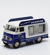 """Schuco Mercedes Benz L 319 Lieferwagen """" Liebherr """",1:43 , OVP, K081"""