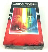 Star Trek The Motion Picture VHS Sci-Fi William Shatner Paramount New SEALED