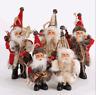 Merry Christmas Tree Winter Decor Candy Bag Santa Claus Party Xmas Ornaments