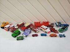 Vintage Tootsie Toy Trucks Cars Metal Diecast Lot