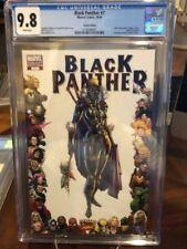 Black Panther 7 (2009) CGC 9.8! 70th ANNIVERSARY SHURI FRAME 1:10 VARIANT SCARCE
