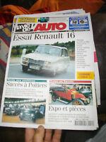 la Vie de l Auto Essai Renault 16 R16 ( 8-11-2001 )