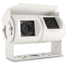 Doppelkamera Dual Doppel Twin Rückfahrkamera Rückfahrkammera Rückfahrcamera weiß