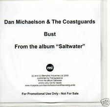 (880O) Dan Michaelson & The Coastguards, Bust - DJ CD
