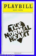 Playbill + The Normal Heart + Ellen Barkin , Joe Mantello, Jim Parsons, Lee Pace