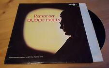 Buddy Holly - Remember LP Vinyl Album Original