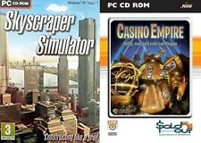 Skyscraper Simulator SKY Raschietto & Casino Empire Nuovo e Sigillato